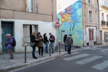 Sortie à Sète - Merci Michèle pour les photos en action des participants.