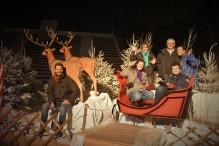 Atelier du mardi soir. Village de Noël à La Grande Motte.