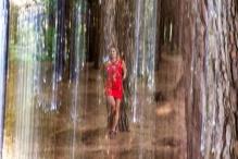Photo : Sébastien Boulesteix avec Morgane Atelier portrait dans les bois
