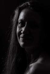 """Atelier samedi - Portrait """"Clair Obscur"""" avec Geneviève réalisé par Laurent Thomas"""