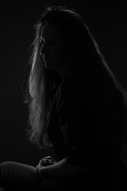 """Atelier samedi - Portrait """"Clair Obscur"""" avec Geneviève réalisé par Jean Martin"""